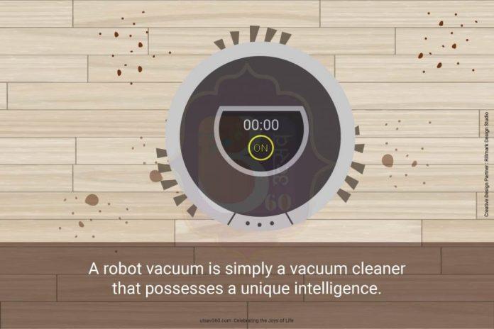 A robot vacuum is simply a vacuum cleaner that possesses a unique intelligent.