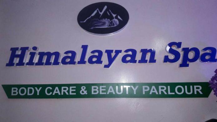 Image of Himalayan Spa sign board
