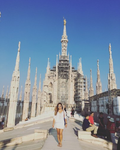 Atop the iconic Duomo