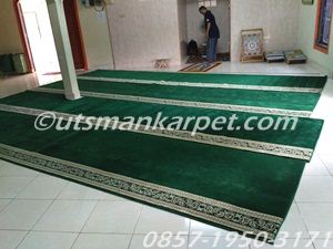 jual karpet masjid bekasi royal tebris hijau
