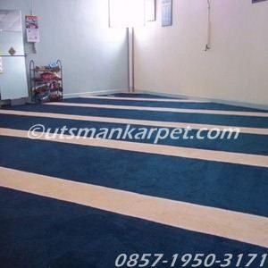 jual karpet masjid jakarta warna biru polos