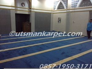 jual karpet masjid jakarta warna biru
