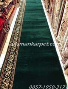 Harga karpet masjid turki grand mosque hijau