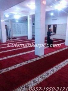 jual karpet masjid merah di bekasi