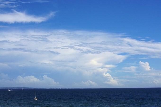 癒しの空と海