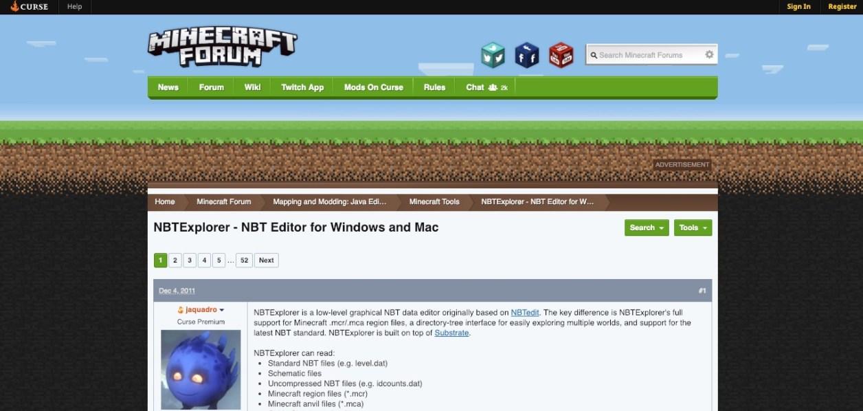 mincraft forum