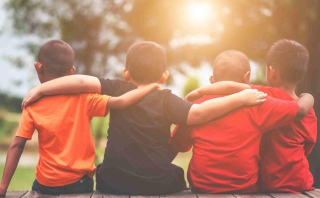 Childhood bond of friendship