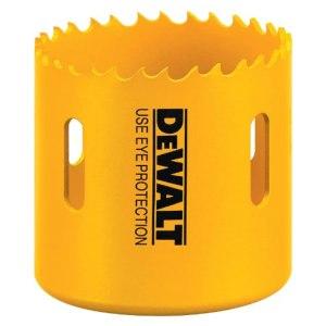 DEWALT D180018 1-1/8-Inch Standard Bi-Metal Hole Saw,Yellow