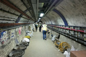 This area is also used as storage space for the maintenance staff.