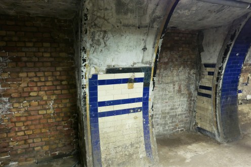 The lift portals which were in service until 1962.
