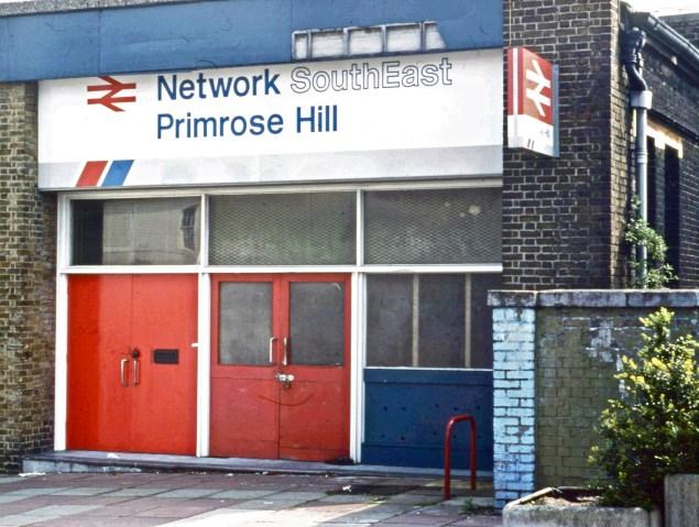 Station entrance in 1990