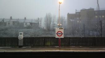 Frosty day in December 2012.