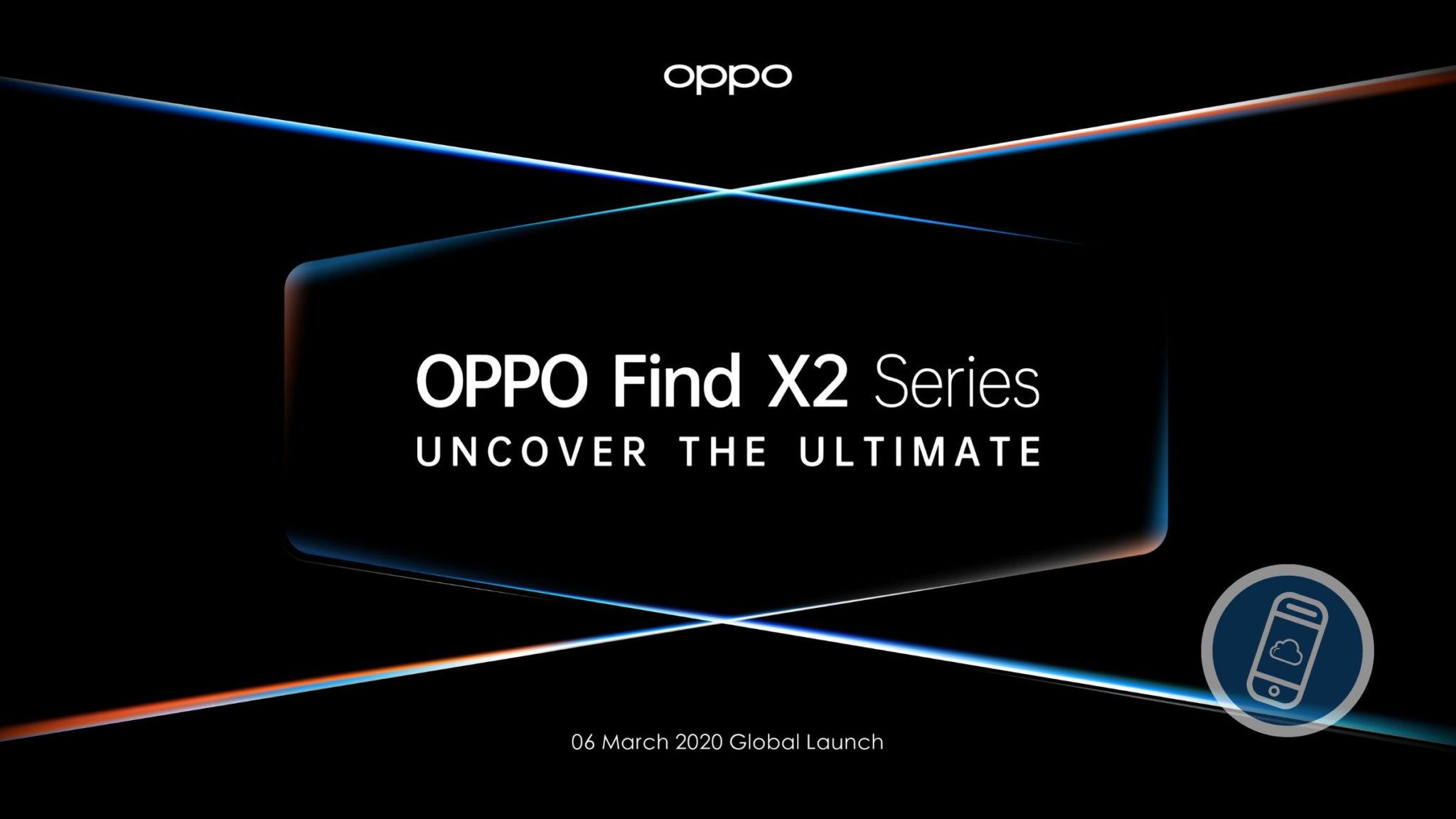 OPPO Find X2 Series Launch Header