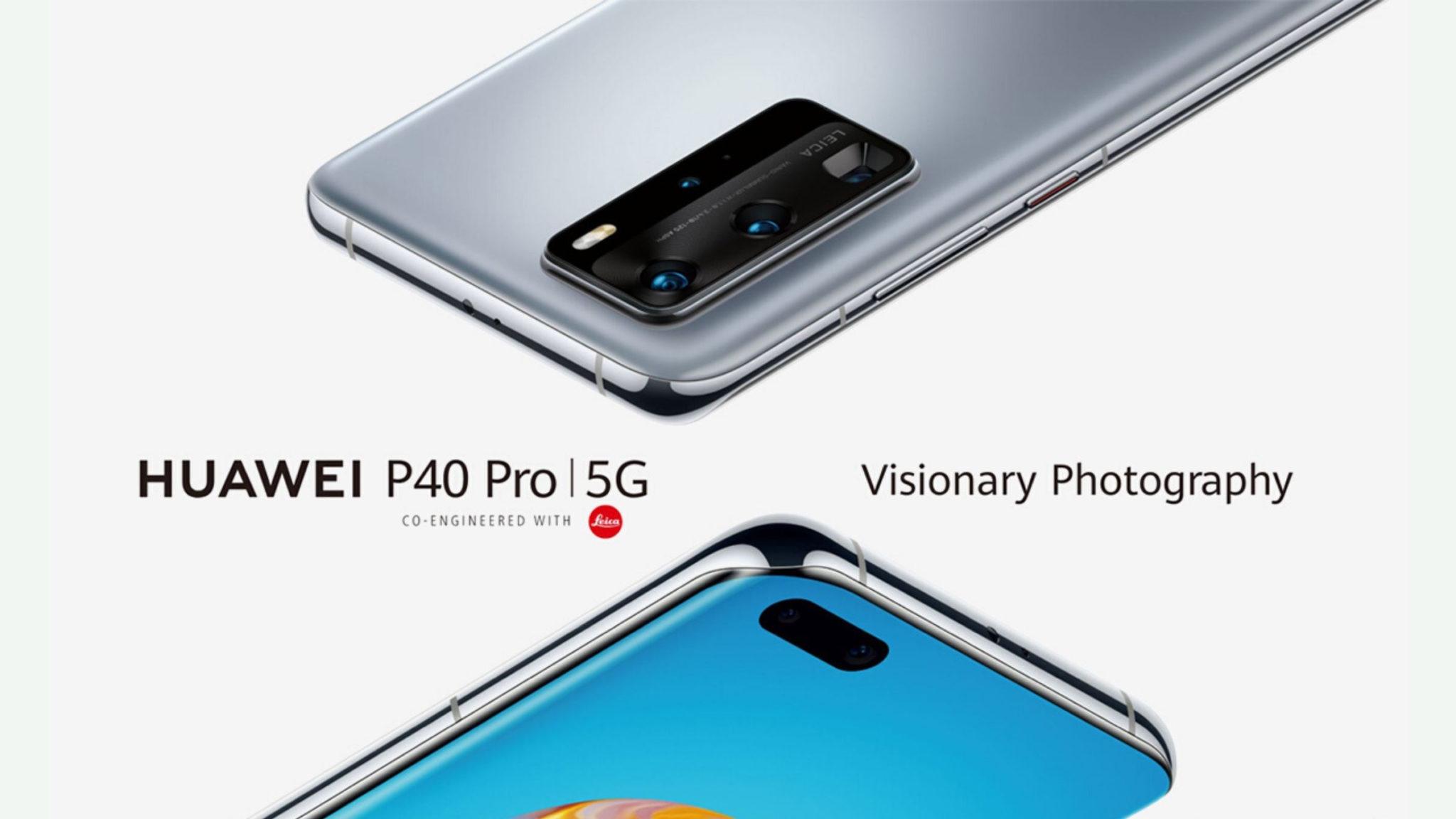 Huawei P40 Series Final Header