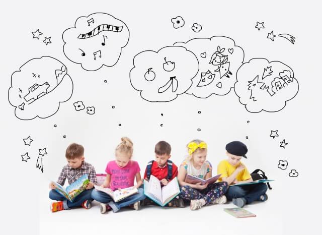 子供達の想像力のイメージ画像