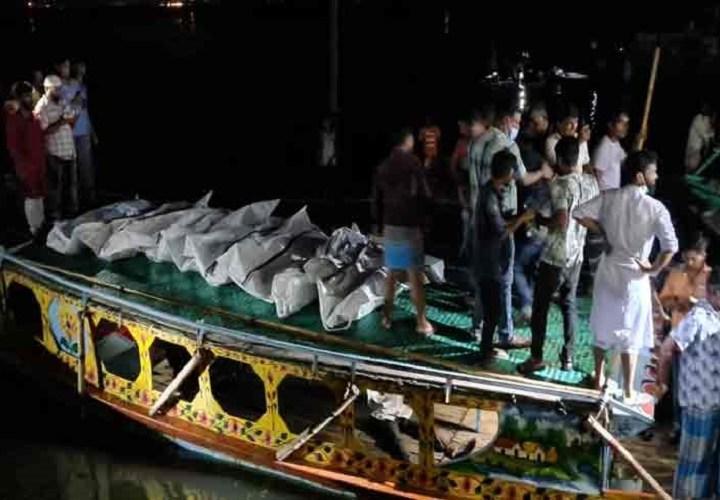 ব্রাহ্মণবাড়িয়ায় নৌকাডুবি : মৃতের সংখ্যা বেড়ে ২১