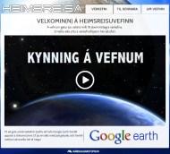 Heimsreisa – Google Earth Námsvefur
