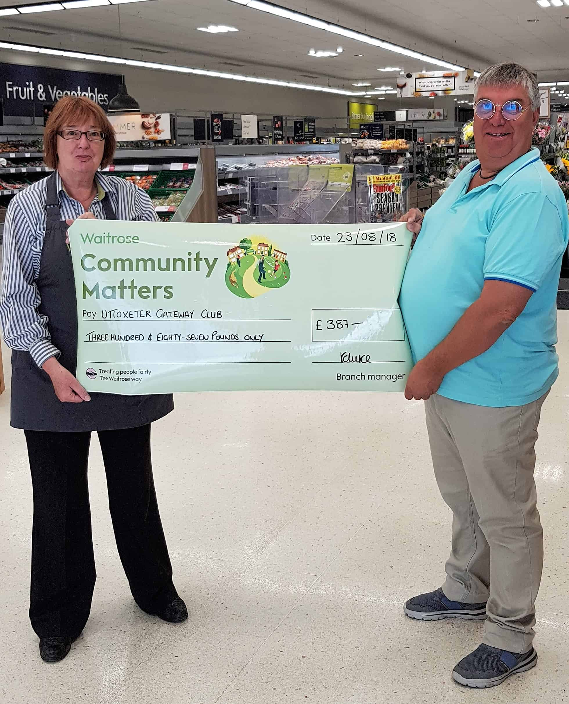 Waitrose Green Token Award