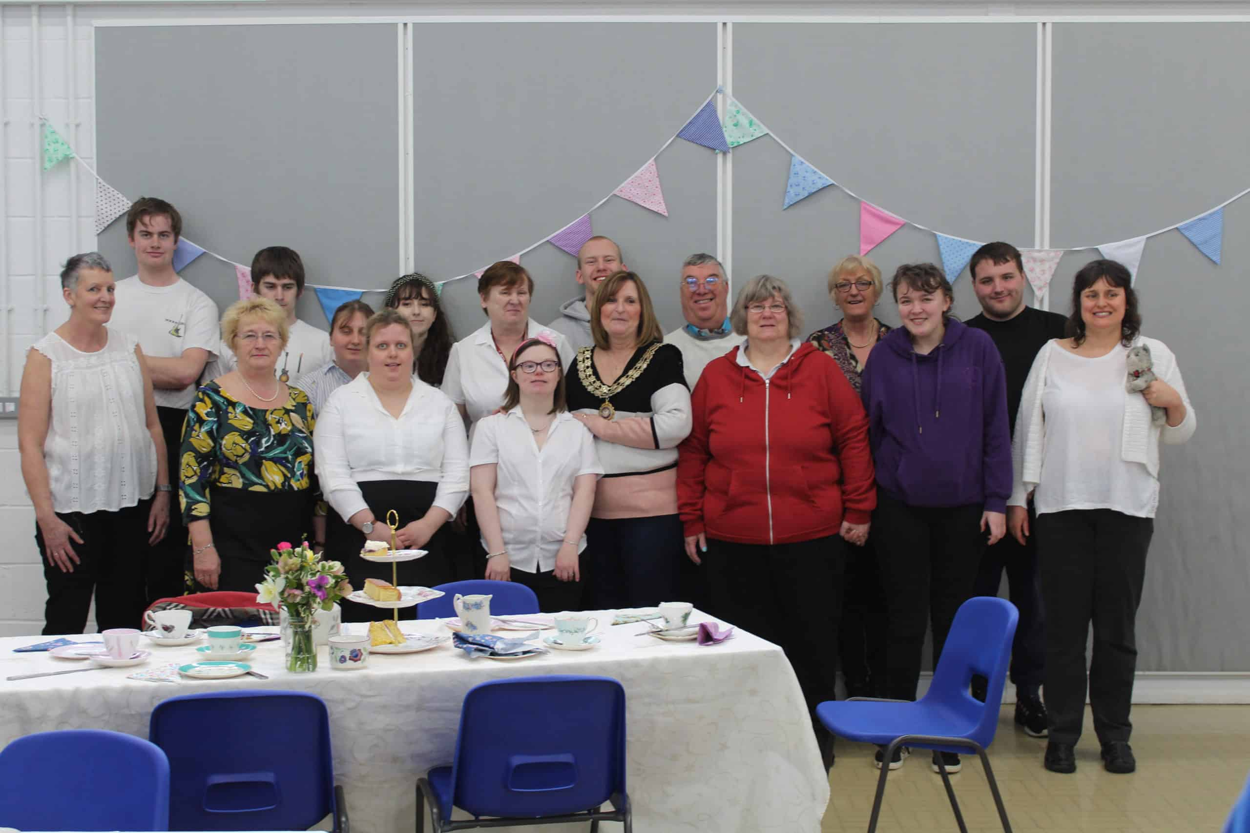 Afternoon Tea with Uttoxeter Gateway Club