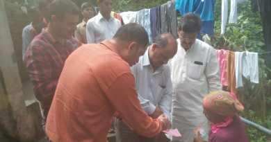 चुनाव चिह्न लेकर जनता के बीच पहुंचे प्रत्याशी महेन्द्र सिंह,लोगों से की समर्थन की अपील 6