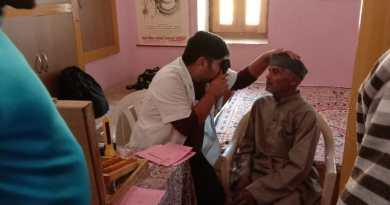 नेत्र जांच शिविर में 350 रोगियों का किया गया परीक्षण,25 लोगों का मोतियाबिंद के आपरेशन के लिए किया चयन 9
