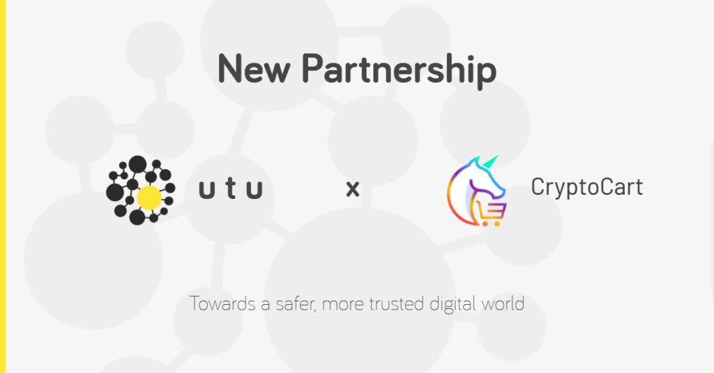 utu cryptocart partnership