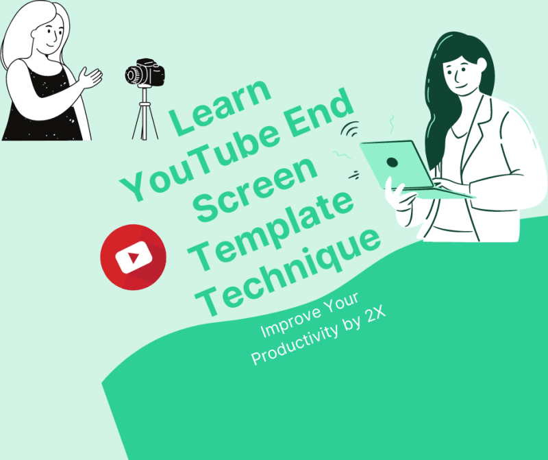 youtube end screen template feature