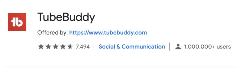 why to use TubeBuddy