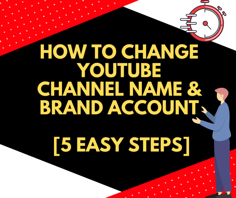 How To Change YouTube Channel Name & Brand Account