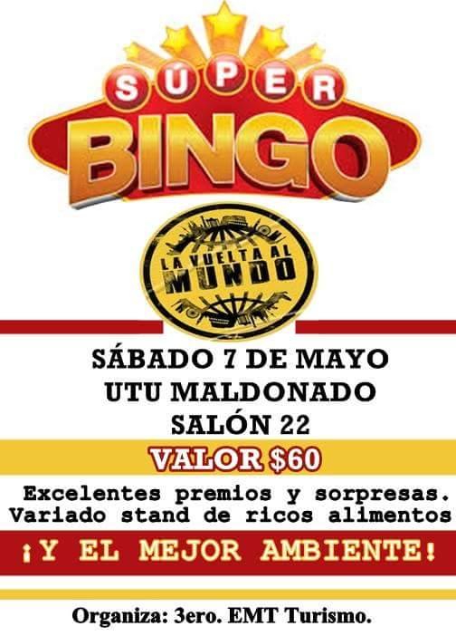 BINGO UTU MALDONADO 7-5-16