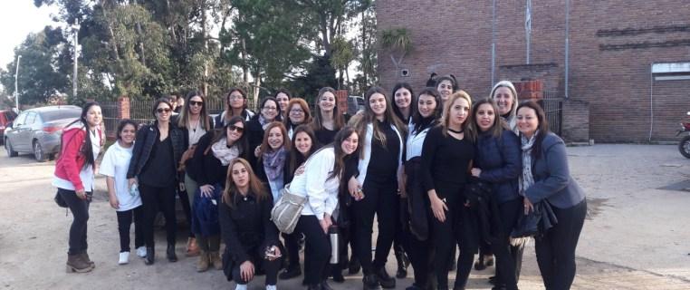Encuentro de estudiantes de 2º EMP Capilar en Escuela Técnica de Solymar