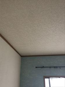 天井補修後