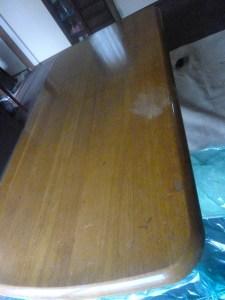 テーブル補修前