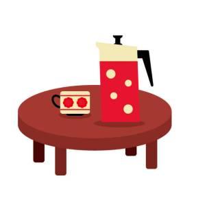 一人暮らし テーブル 大きさ