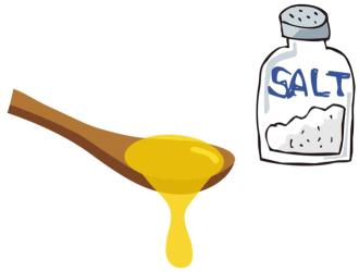 口内炎 治し方 塩