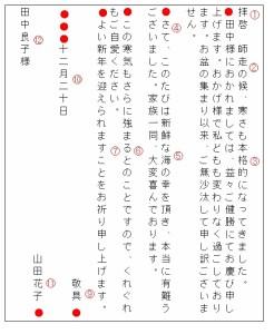 手紙の書き方縦書き01