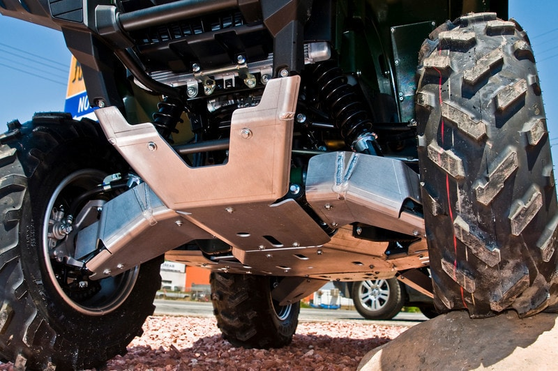Ricochet Skid Plate 10 Pieces Yamaha Grizzly 700