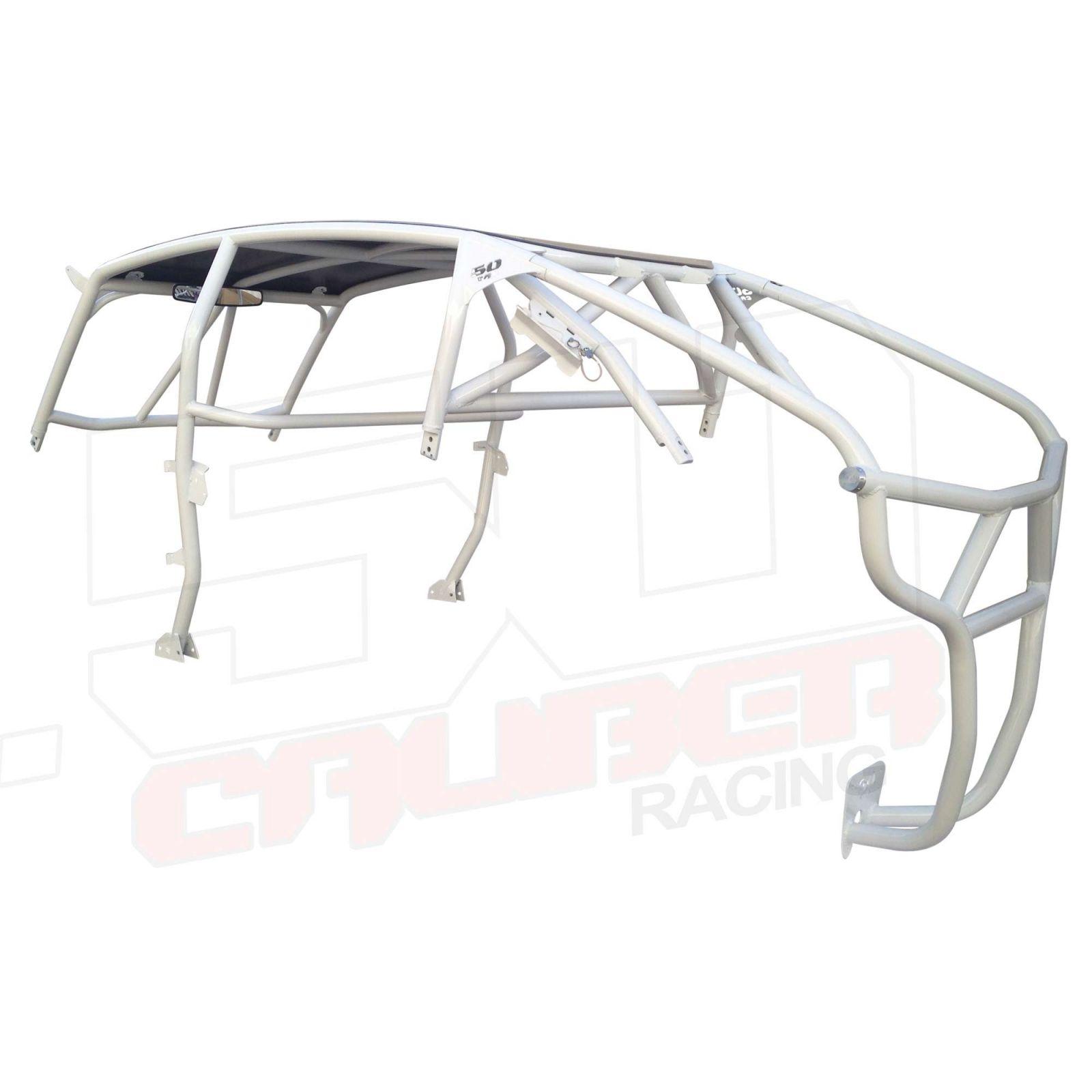 Polaris Rzr Rzr4 Xp Turbo Roll Cage Radius Bends Aluminum Roof Usa