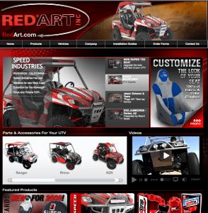 New RedArt Website