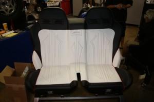 Redesigned Polaris RZR Bench Seat