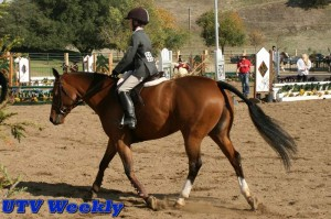 David and Clover at the Murieta Equestrian Center