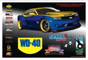 WD-40 SEMA Cares Camaro