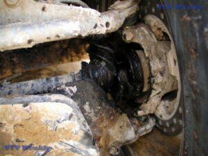 Torn CV Boot on my Polaris RZR S