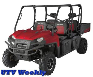 2010 RANGER 800 CREW LE-Sunset Red with Electronic Power Steering