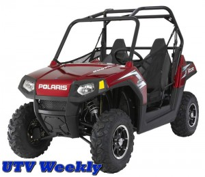 2010 RANGER RZR LE-Sunset Red with Electronic Power Steering