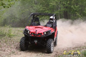 Can-Am Commander 1000 at the media introduction
