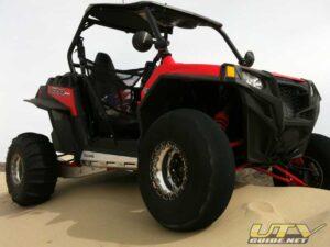 Polaris RZR XP with sand tires