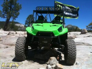 Kawasaki Teryx on the Rubicon Trail