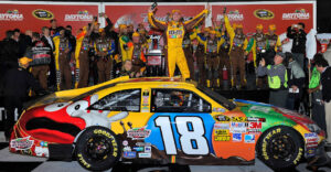 2012 NASCAR Budweiser Shootout Daytona Kyle Busch