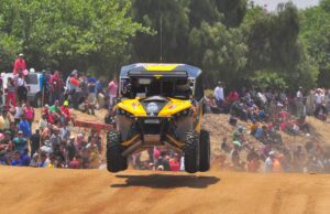 Cory Sappington (Desert Toyz / Can-Am X-Team) finished second with the Can-Am Maverick 1000R X rs side-by-side in the UTV Class at the 40th Annual Baja 500 endurance race in Mexico.